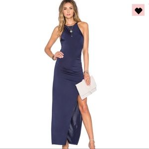 NWOT Navy Blue Gown by Lovers+Friend XS